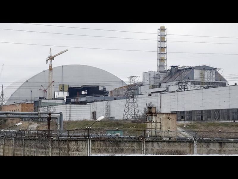 """/ВИДЕО/ Запечатват """"Чернобил"""" със стоманен купол - картинка 1"""
