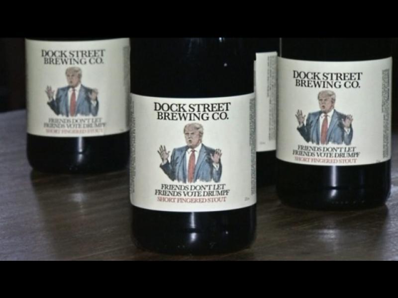 Нова марка бира анти-Тръмп - картинка 1