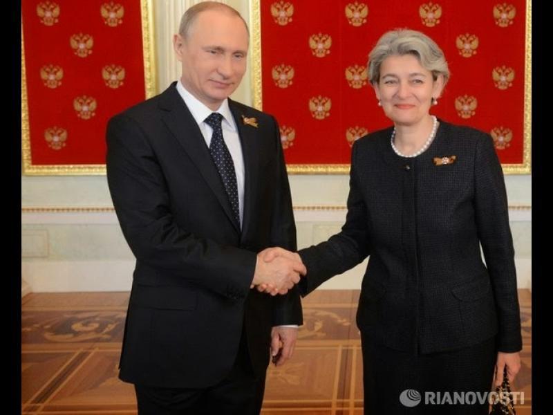 """The New American: Ирина Бокова разчита на шпионите на """"малкото КГБ"""" - картинка 1"""
