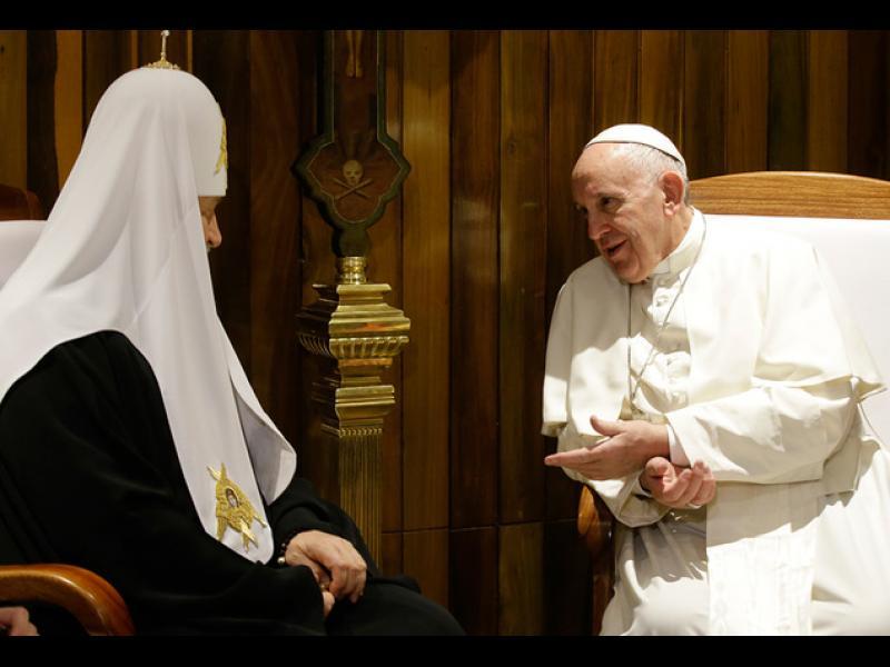 /ВИДЕО/Комунистическа Куба събра папата и руски патриарх - картинка 1