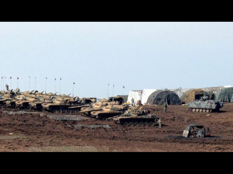 Турция атакува позиции на кюрдите в Сирия - картинка 1