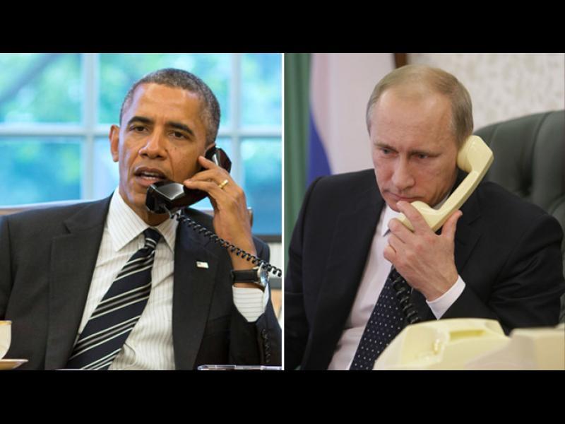 Путин и Обама в телефонен разговор за Сирия - картинка 1