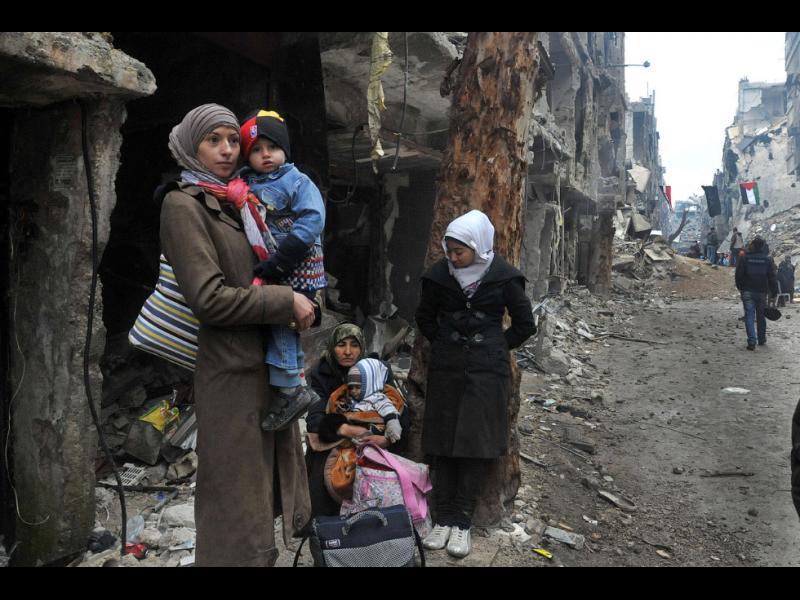 Най-малко 23 цивилни загинаха в сирийския град Азар от руски ракетен удар