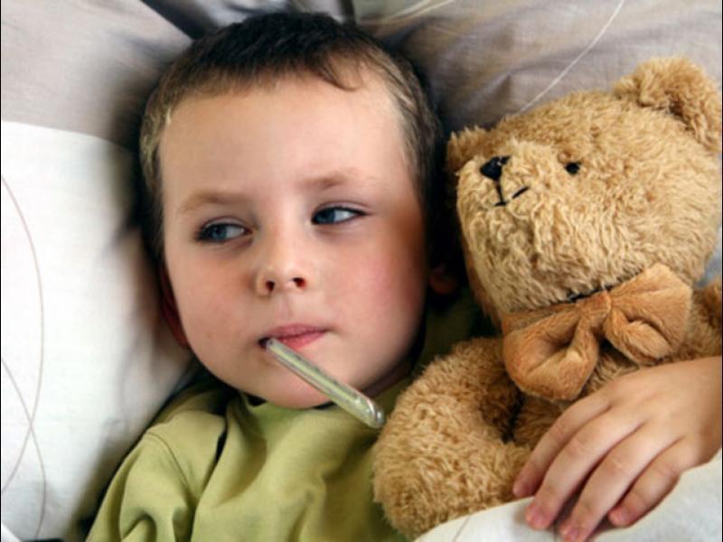 Зимата - сезонът на болестите при децата