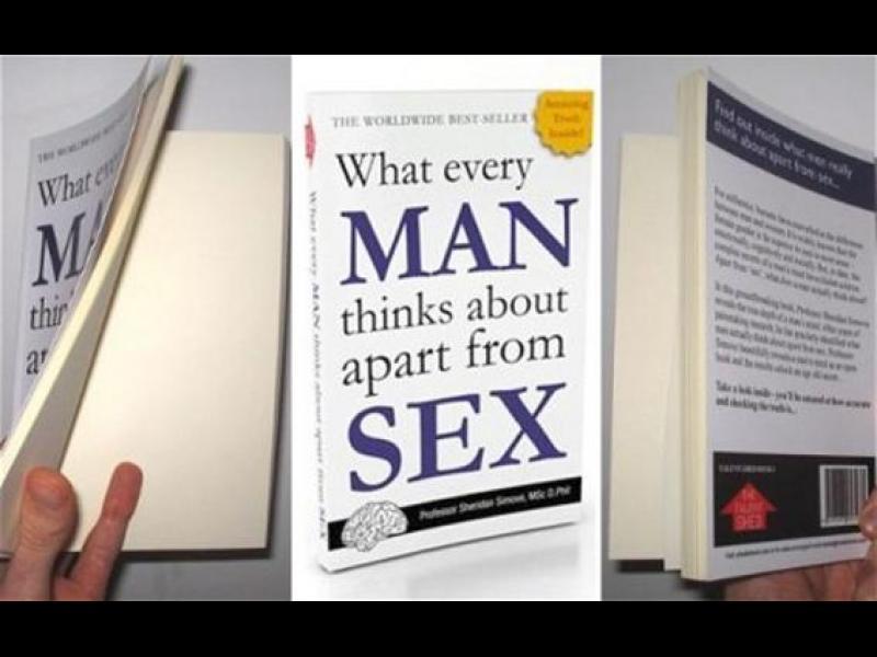 Книга с празни страници стана бесселър