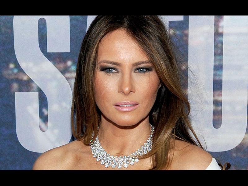 Бъдещата първа дама- Мелания Тръмп?