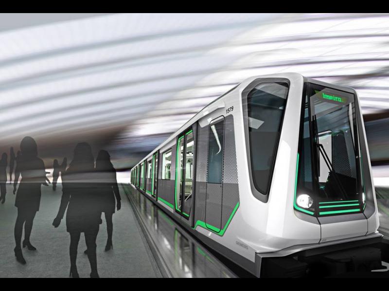 /СНИМКИ/ Как ще изглеждат влаковете на новото метро? - картинка 1