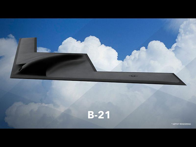 Уникално: САЩ показа на света новия бомбардировач В-21 - картинка 1