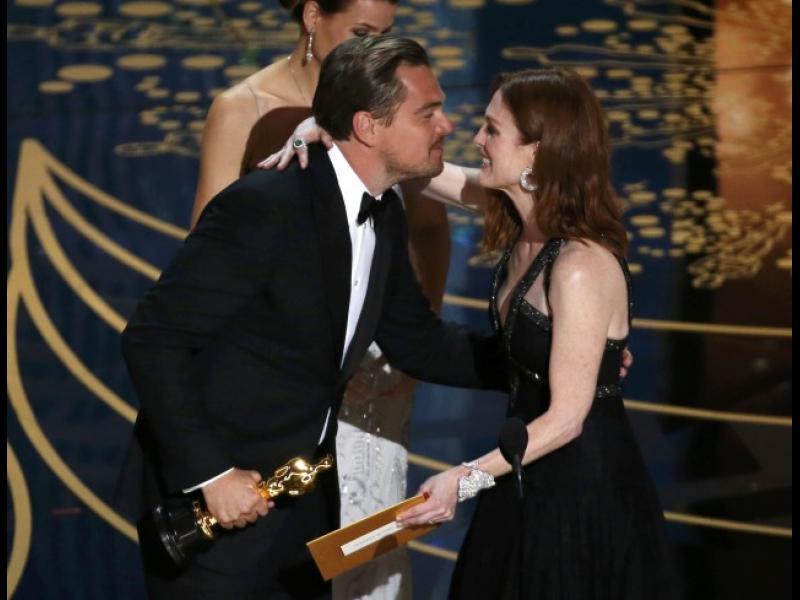 """Леонардо ди Каприо с Оскар за """"Завръщането"""" - картинка 1"""