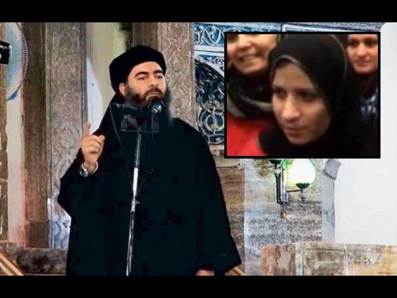 """Жената на лидера на """"Ислямска държава"""" избяга от него"""