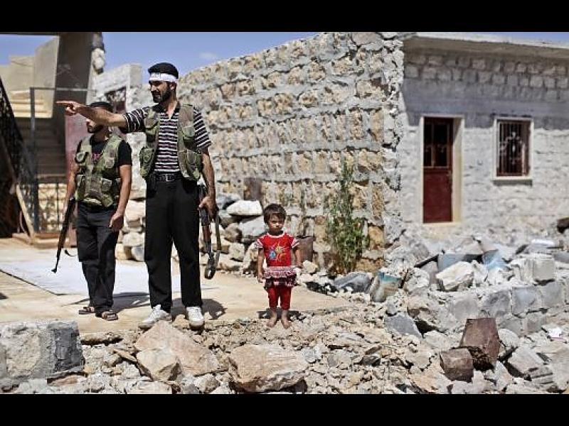 Бунтовници в Сирия  подписаха примирие с режима на Асад
