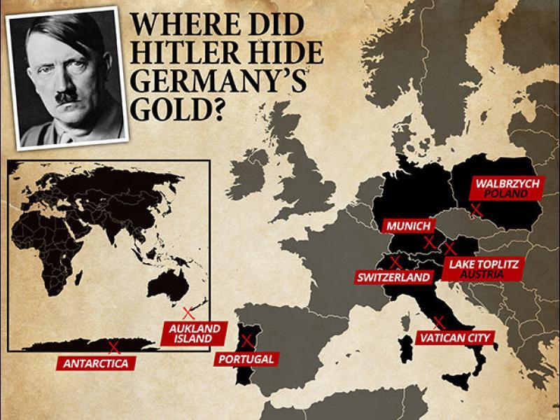 Изчезналото нацистко злато