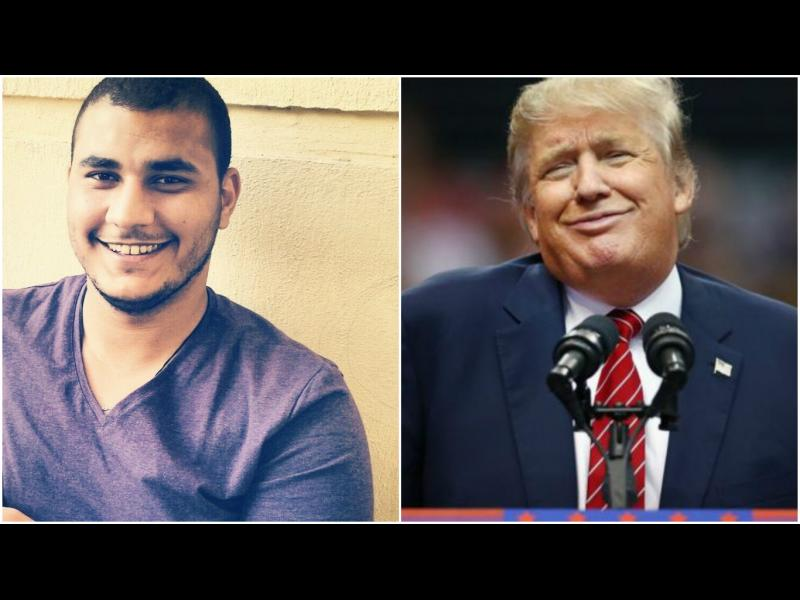Египетски студент на съд - за пост срещу Тъмп във Фейсбук - картинка 1