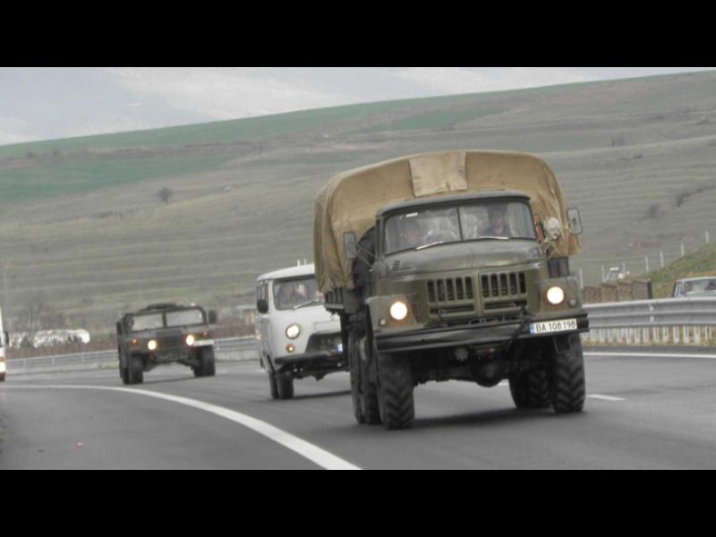 Военните заминаха към границата - картинка 1