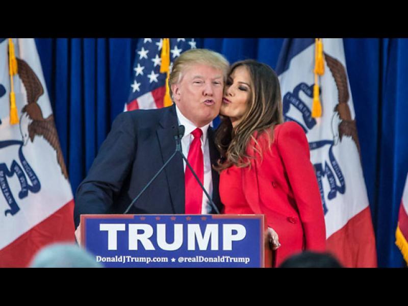 Жената до Тръмп: Съпругът ми обича да се забавлява и да бъде със семейството си! - картинка 1