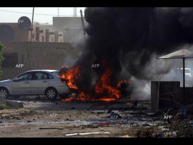 (ОБНОВЕНА) Самоубийствен атентат уби най-малко 60 души южно от Багдад
