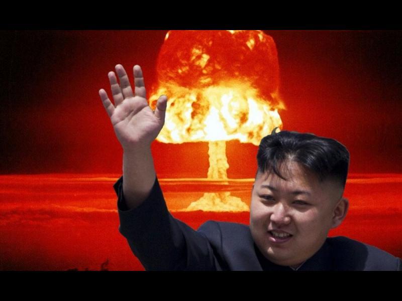 Северна Корея заплашва отново с ядрен удар - картинка 1