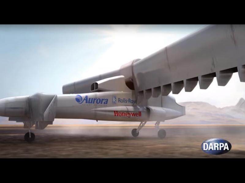 /ВИДЕО/ Нов електрически хибрид между вертолет и самолет