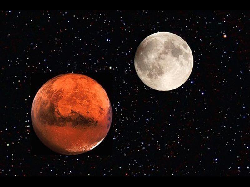 Почвата на Марс и Луната е подходяща за земеделие