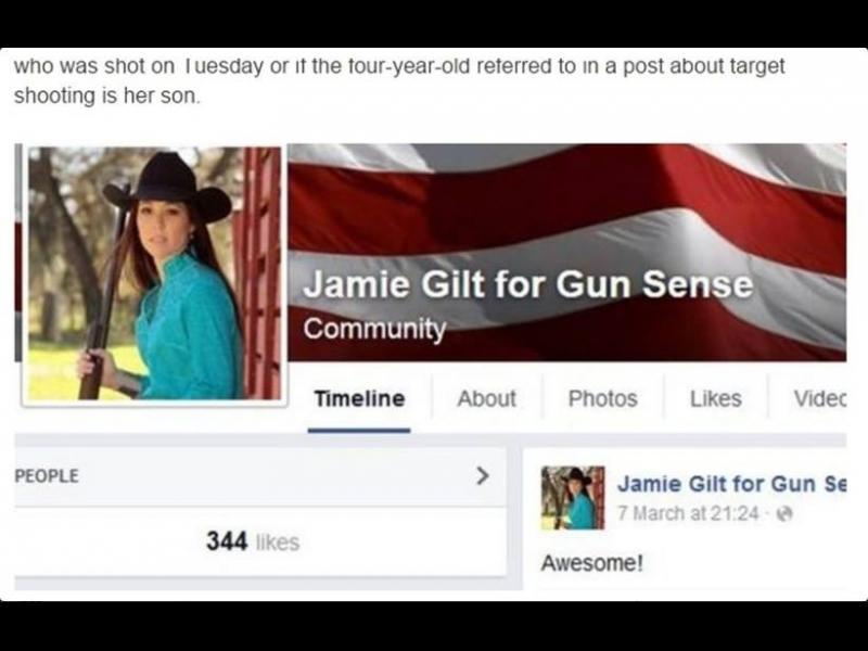 Всеки да има правото да носи оръжие, за да защитава детето си! - картинка 1