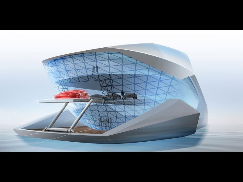 /СНИМКИ/ Каква ще бъде яхтата на бъдещето?