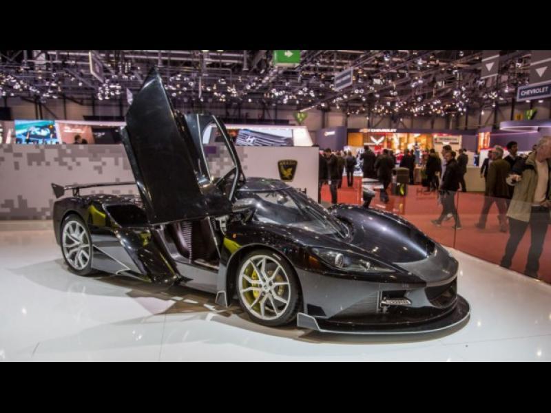 /СНИМКИ/ Луксозните автомобили от Женева - картинка 1