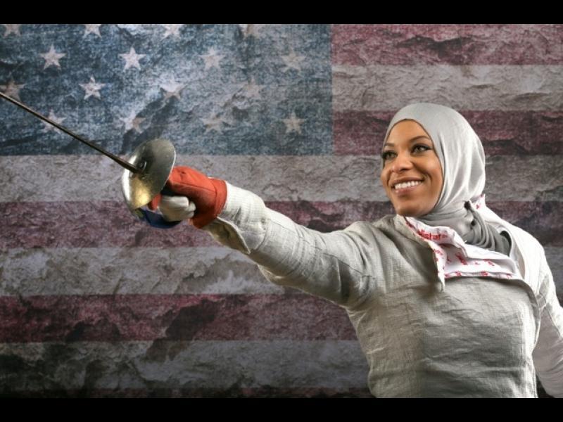 С хиджаб на Олимпиадата в Рио
