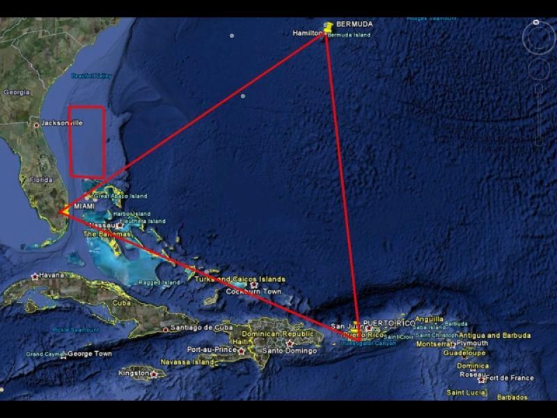Разкриха ли загадката на Бермудския триъгълник?