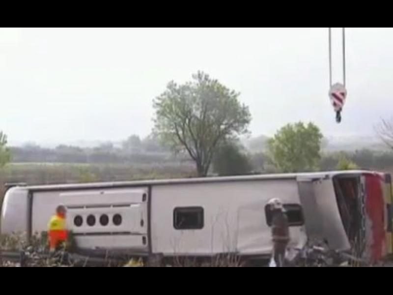 /ВИДЕО/ 14 жертви на катастрофа в Испания - картинка 1