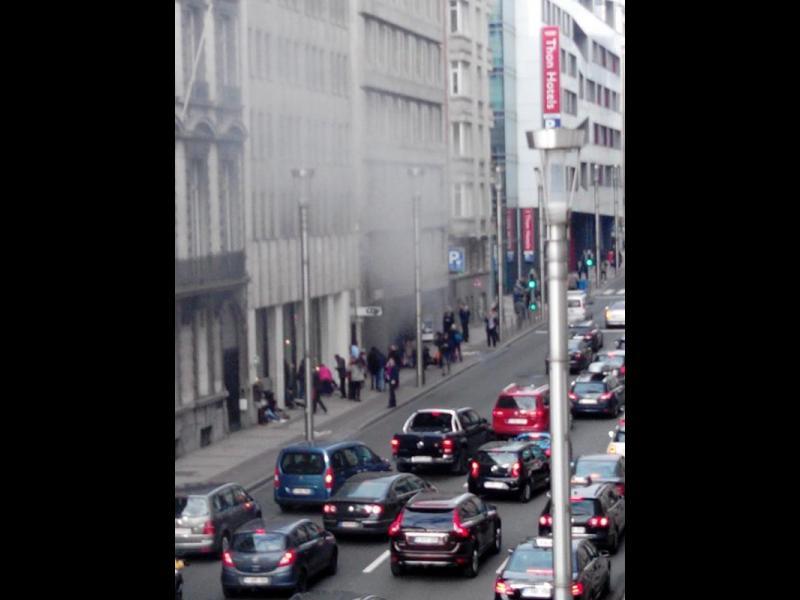 ОБНОВЕНА! Експлозия в метрото в Брюксел (ВИДЕО)