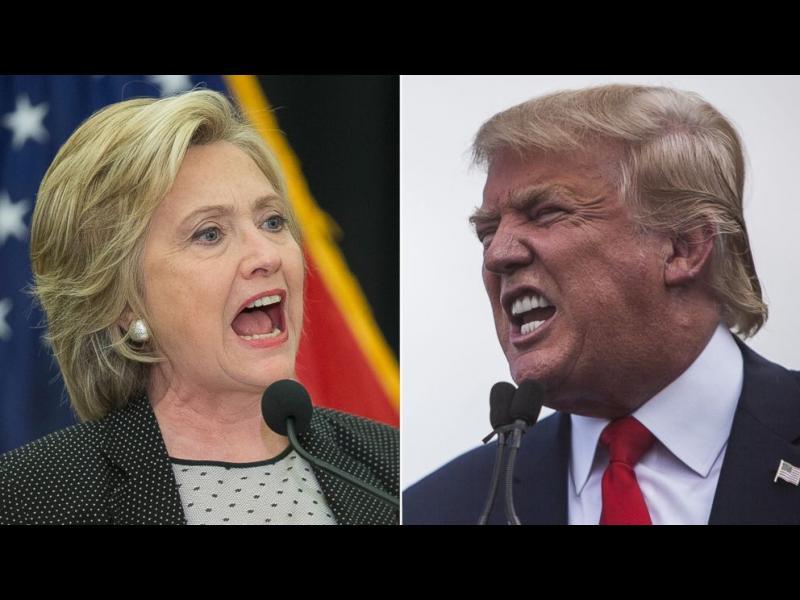 Доналд Тръмп се опита да унижи Хилъри /ВИДЕО/