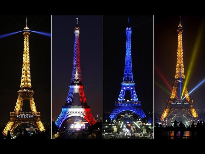 Зловещ облог: В какви цветове ще бъде осветена Айфеловата кула следващия път? - картинка 1