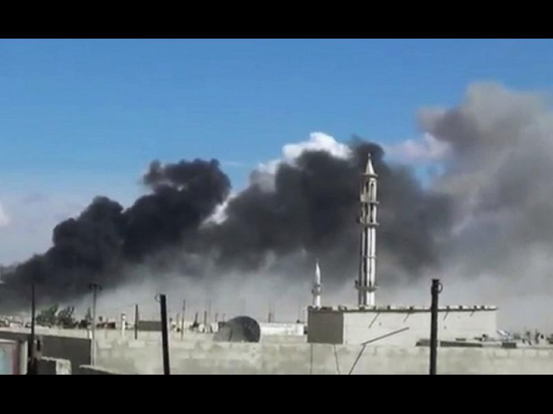 """Коалиционните сили с мащабни удари по """"Ислямска държава"""" в Ирак и Сирия"""
