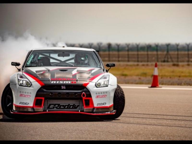 /ВИДЕО/ Nissan GT-R NISMO със световен рекорд за най-бърз дрифт - картинка 1