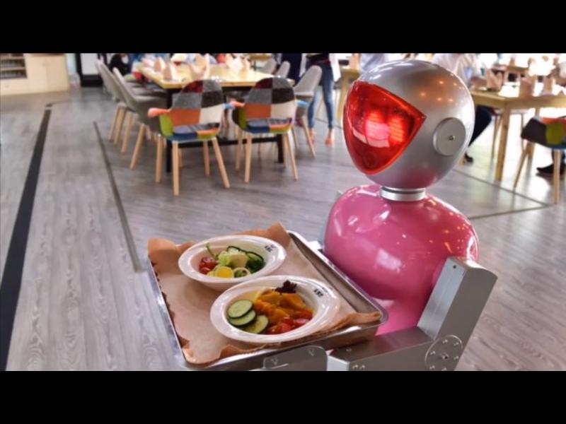 /ВИДЕО/ Уволниха роботи сервитьори - били бавни и непохватни
