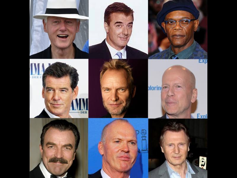 Известните мъже на 60+