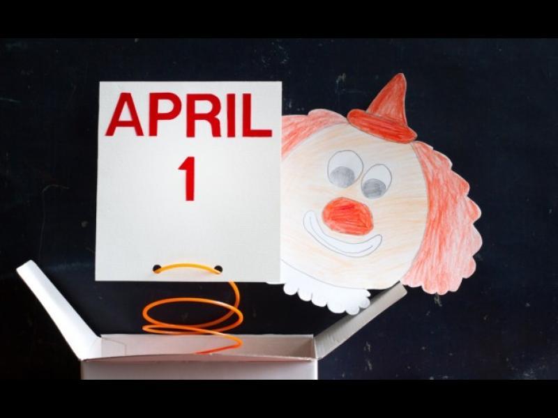 Първи април, ден на шегата