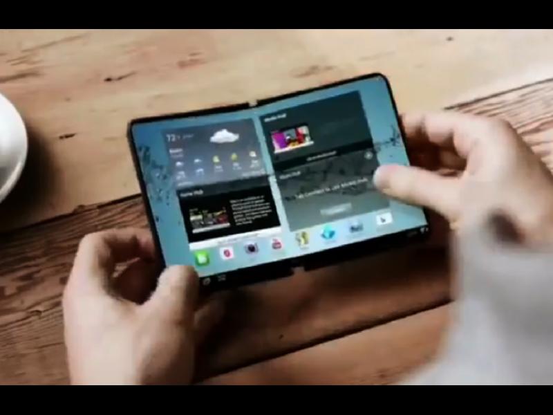 SAMSUNG пуска на пазара телефон, който се разгъва в таблет - картинка 1