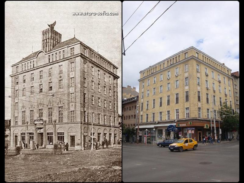 """Сградата на ъгъла на ул.""""А. Стамболийски"""" и """"Ботев"""""""