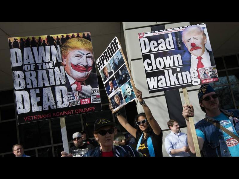 Тръмп срещу Хилари в Ню Йорк - картинка 1