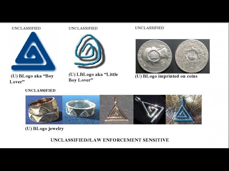 ФБР разкри символи, с които педофилите се обозначават при контакт със себеподобни - картинка 1
