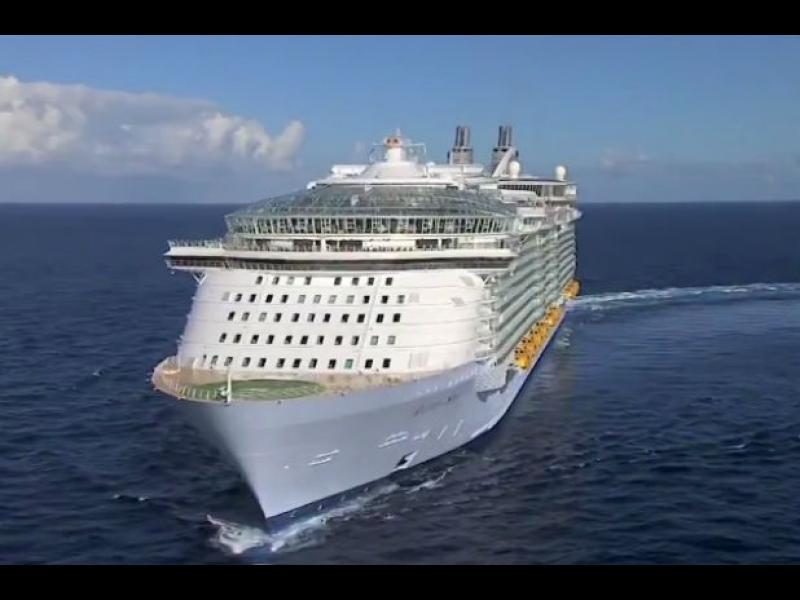 /ВИДЕО/ Кораб за 1 млрд. евро ще посреща 6000 гости през май