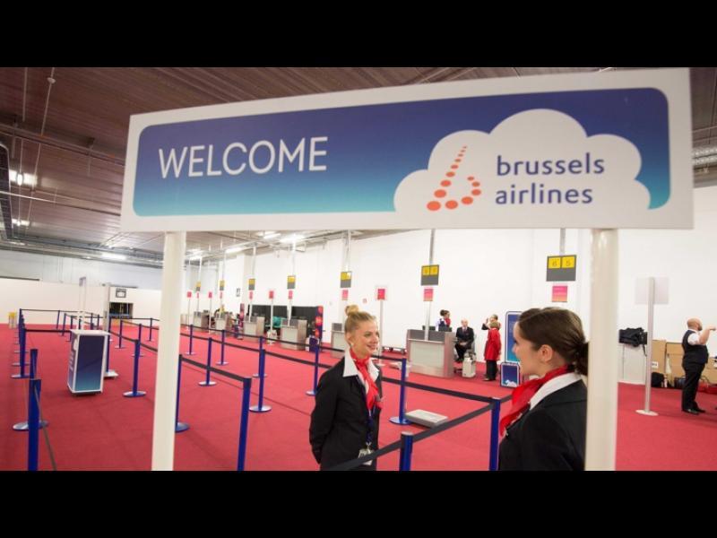 От брюкселското летище Завентем излетяха първите полети - картинка 2