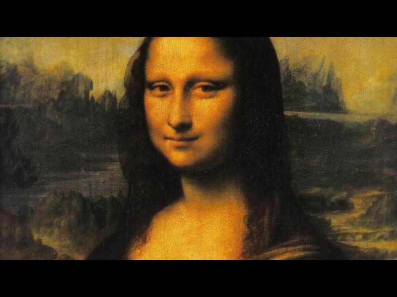 Мъж и жена са позирали за Мона Лиза - картинка 1