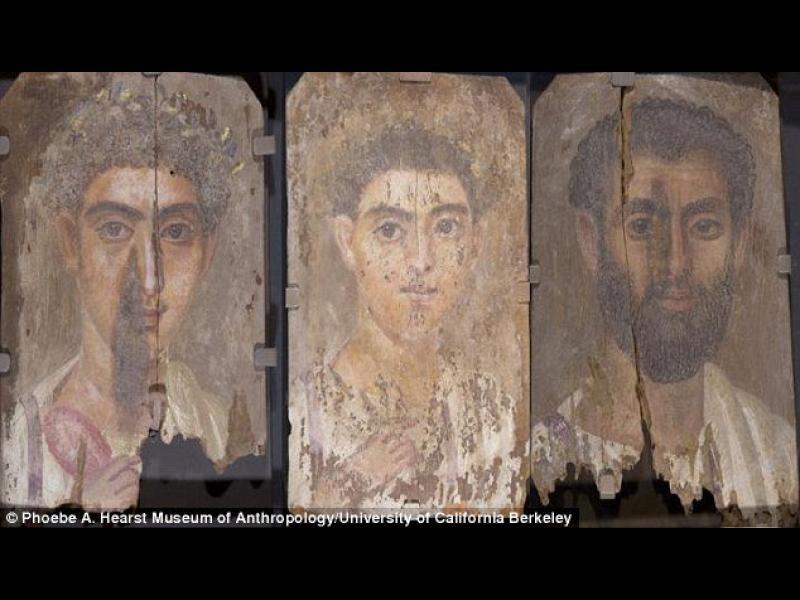 Най-старите дървени портрети в света бяха намерени в египетска гробница - картинка 1