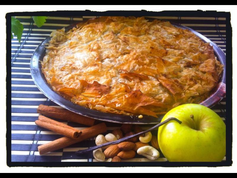 Домашна кухня: Ябълков щрудел (пай)