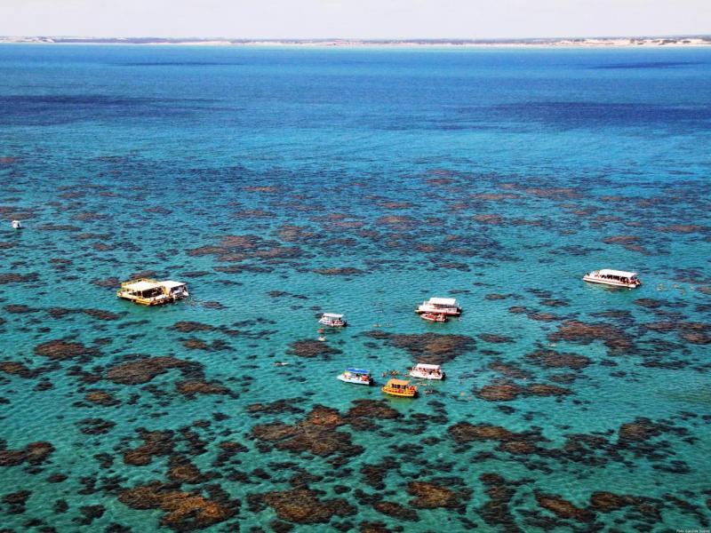 """Маракая, или """"Бразилските Кариби"""", кръстен така заради снежнобелия пясък и кораловите рифове"""