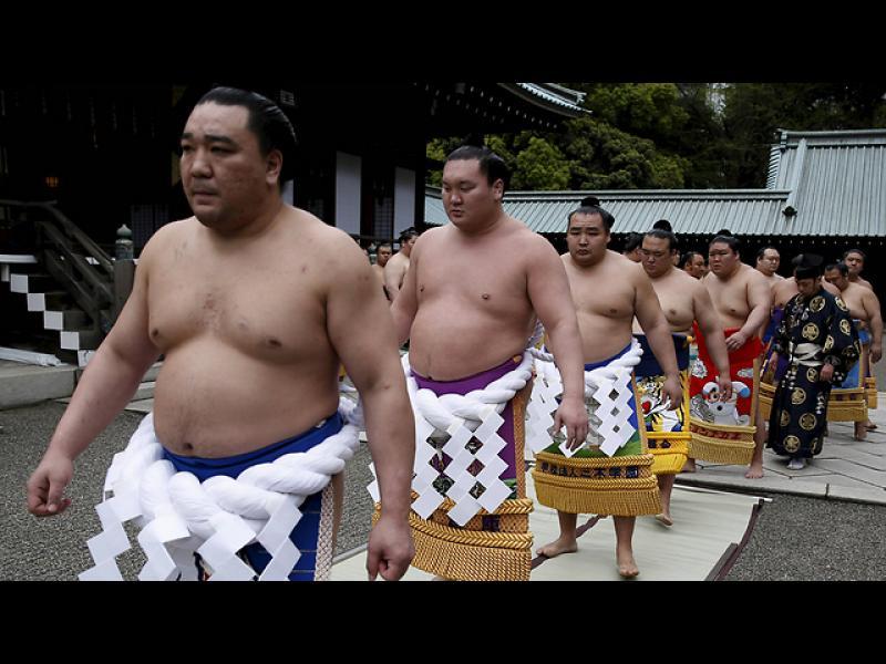 Сумисти се подготвят за битка в Токио
