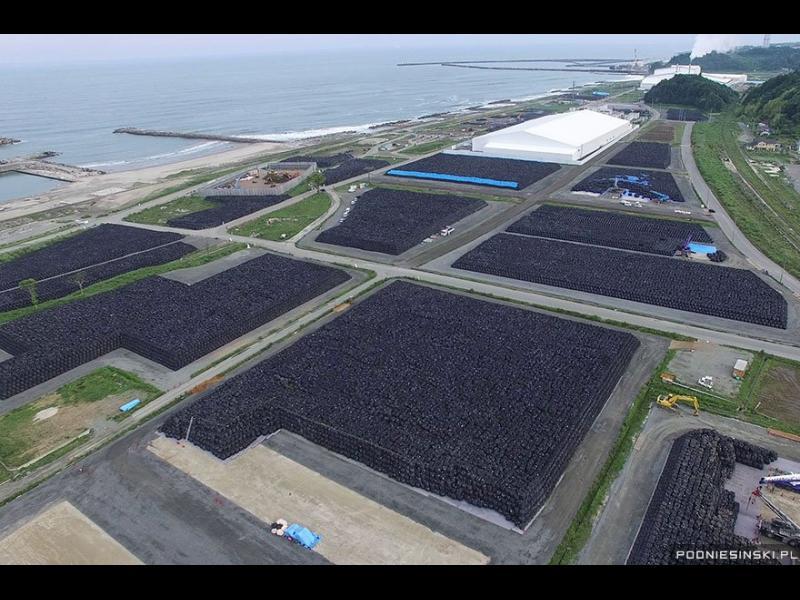 Огромното сметище, съдържащо десетки хиляди чували със замърсена почва