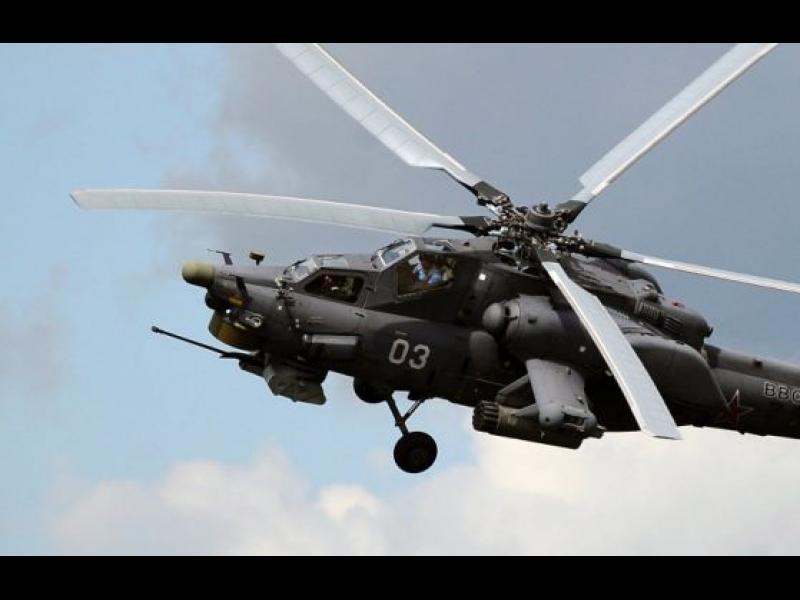 Руски Ми-28 се разби в Сирия - картинка 1